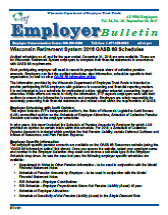 ETF Employer Bulletin